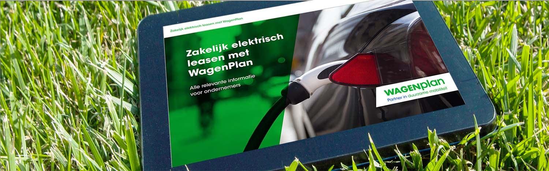 e-book Zakelijk elektrisch leasen WagenPlan